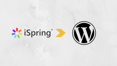 iSpring WordPress xAPI