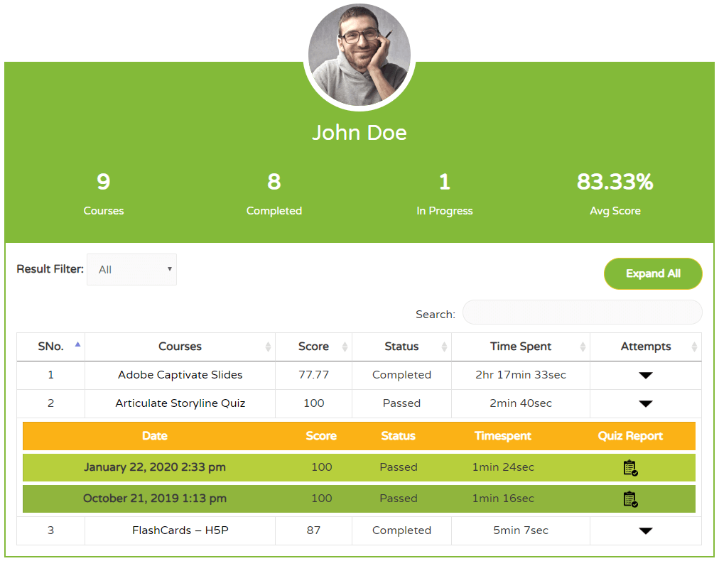 grassblade user report