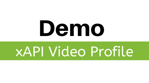 xAPI Video Profile Demo