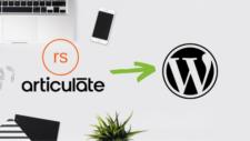 Rise course on WordPress