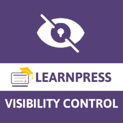 Visibility Control for Learnpress