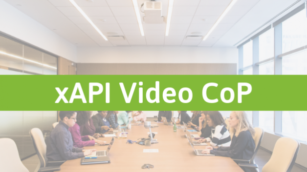 xAPI Video Community of Practice