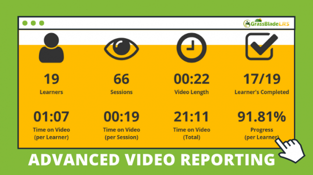 Advanced Video Reporting in GrassBlade Cloud LRS