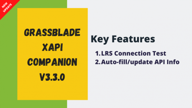 GrassBlade xAPI Companion v3.3.0 is here! What's New?